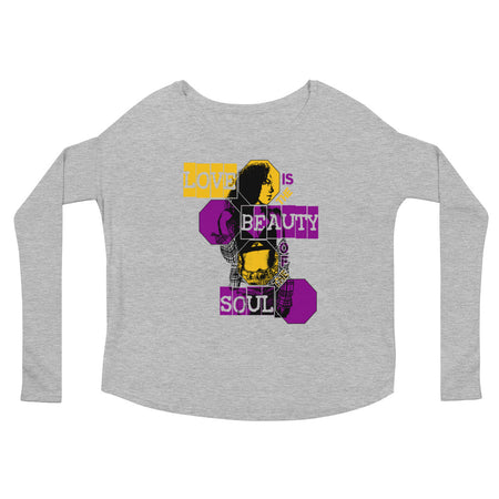 Beauty of the Soul (Women/Flowy Long Sleeve)