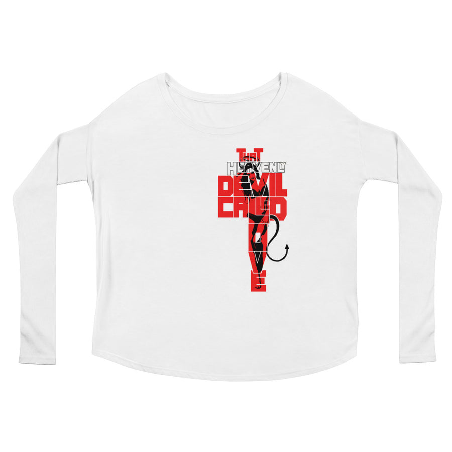 That Heavenly Devil (Women/Flowy Long Sleeve)