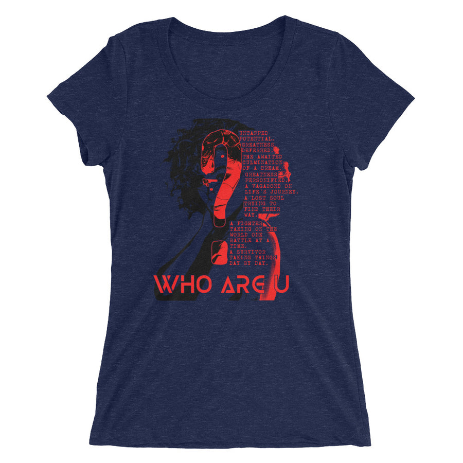 Who Are U? (Women/Crew-Neck)