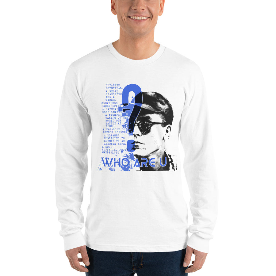 Who Are U? 2 (Men/Long Sleeve)