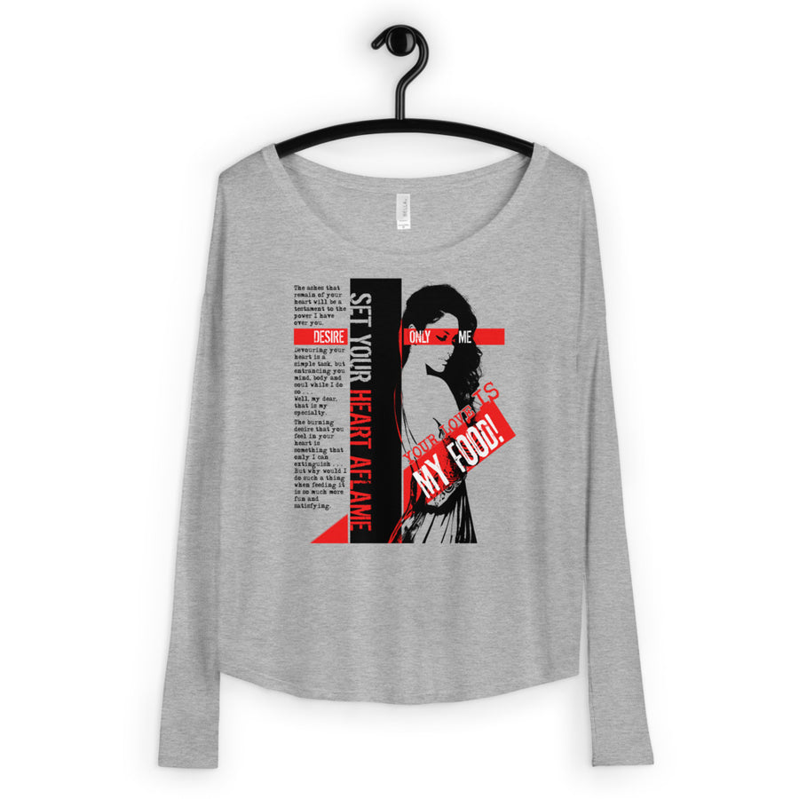 The ManEater Redux (Women/Flowy Long Sleeve)
