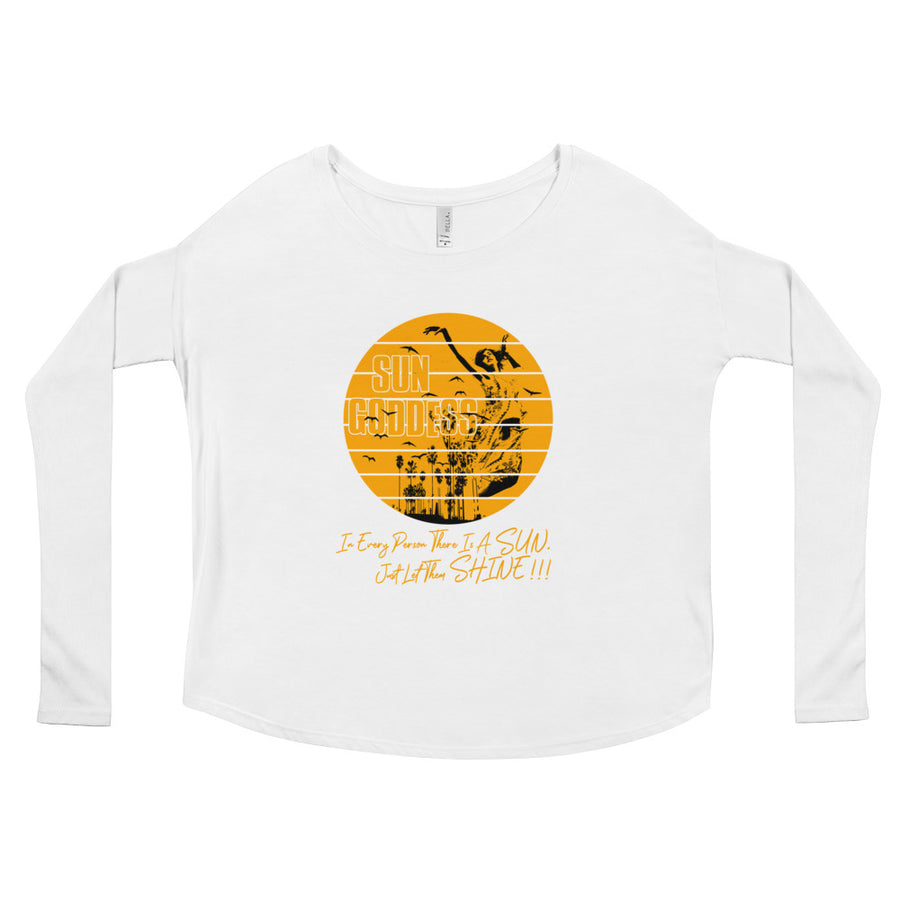 Sun Goddess (Women/Flowy Long Sleeve)