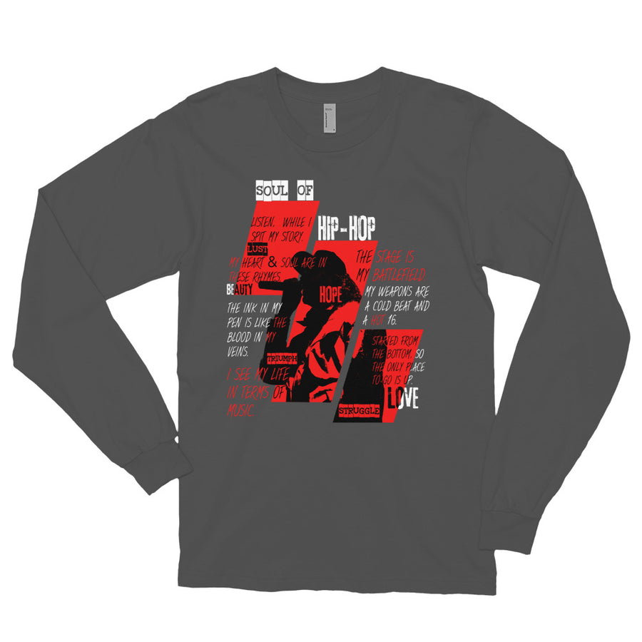 Hip Hop Soul Redux Illuminated (Men/Long Sleeve)