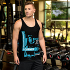 Dream Chaser BLUE - ECLIPSED (Men/Tank-Top)