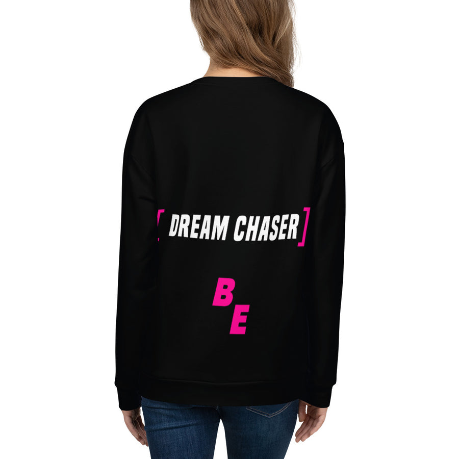 Dream Chaser PINK - ECLIPSED (Unisex Sweatshirt)