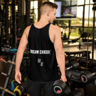 Dream Chaser WHITE - ECLIPSED (Men/Tank-Top)