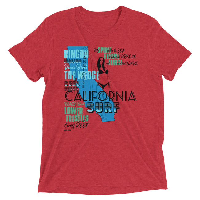 LOCAL FLAVA CALIFORNIA SURF (Men/Crew-Neck)