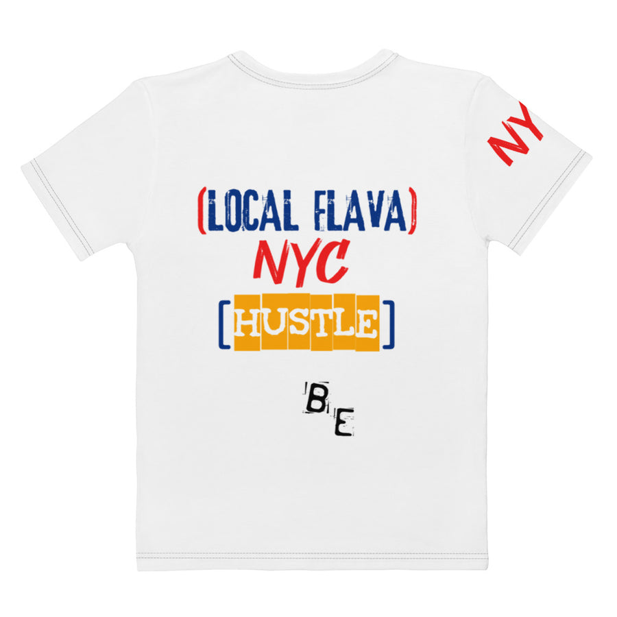 LOCAL FLAVA NYC HUSTLE - ECLIPSED (Men/Crew-Neck)