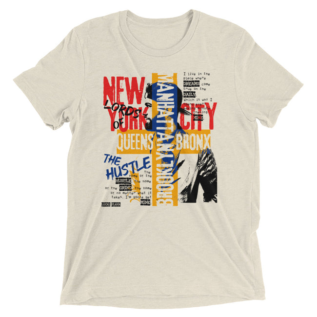 LOCAL FLAVA NYC HUSTLE (Men/Crew-Neck)