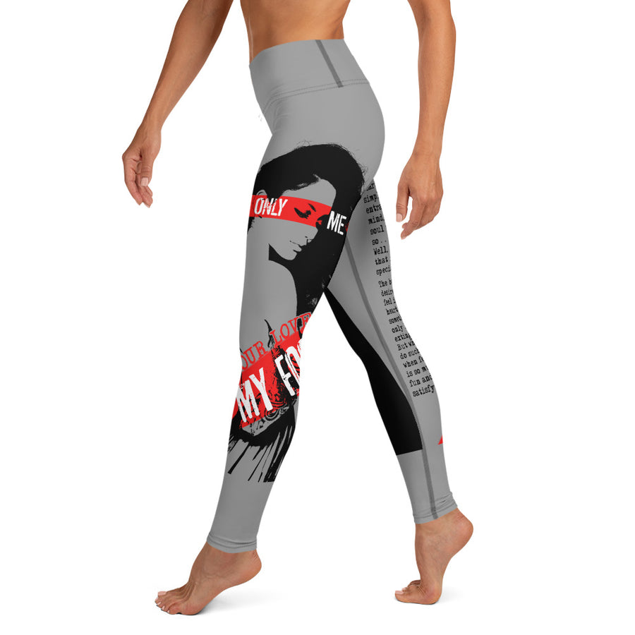 The ManEater Redux - Yoga Leggings (GREY)