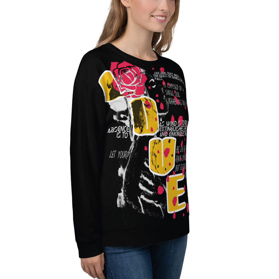 Love N Rose Illuminated - ECLIPSED (Unisex Sweatshirt)