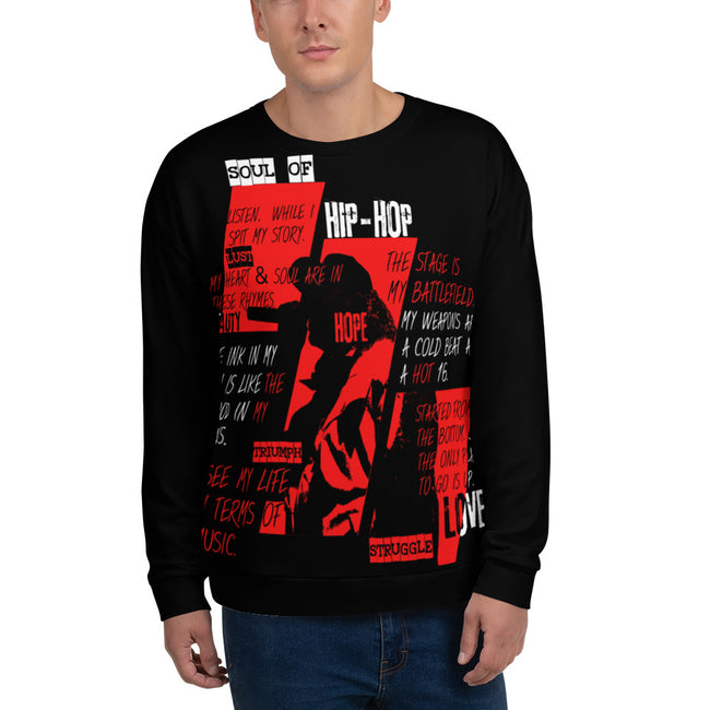 Hip Hop Soul Redux Illuminated - ECLIPSED (Unisex Sweatshirt)