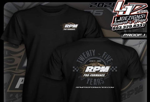 RPM Pro-Formance 25th Anniversay T-Shirt - RPM050