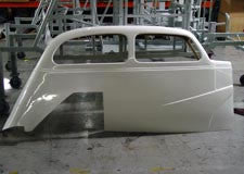 1937 USLCI Chevy Sedan - Right Side