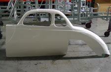 1937 USLCI Ford Coupe - Left Side
