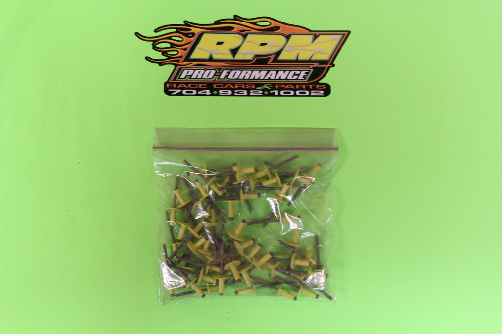 RPM Large Head Rivet (Yellow) - Item #RPM18180