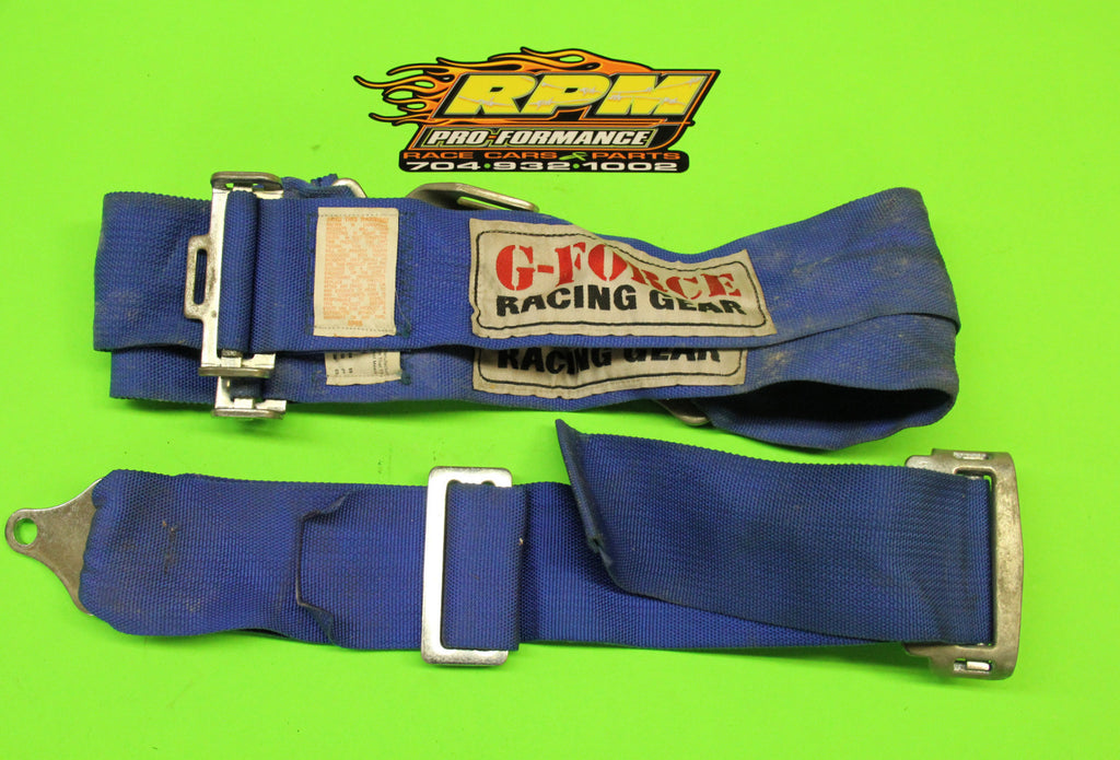 G-Force Seat Belts (USED) - Item #242