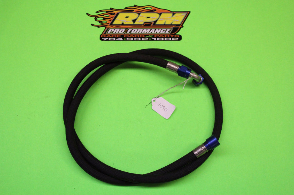 AN-6 Braided Line w/90 Degree Fitting - Item #1090