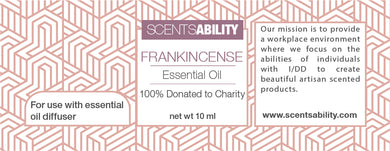 Frankincense Organic Essential Oil