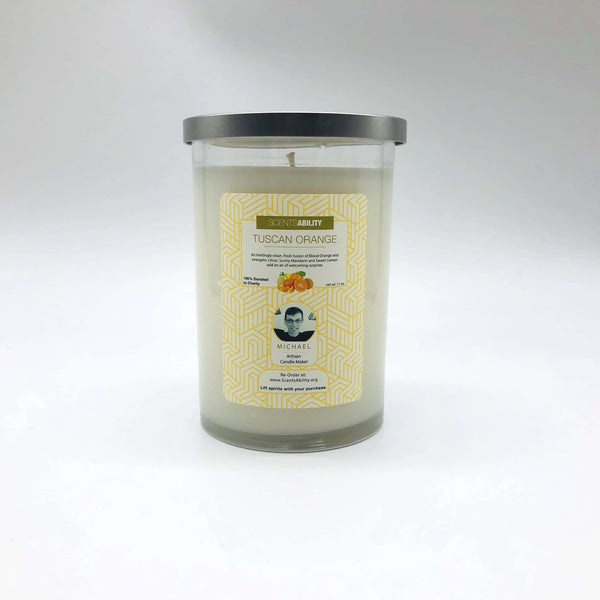 Candle - Tuscan Orange