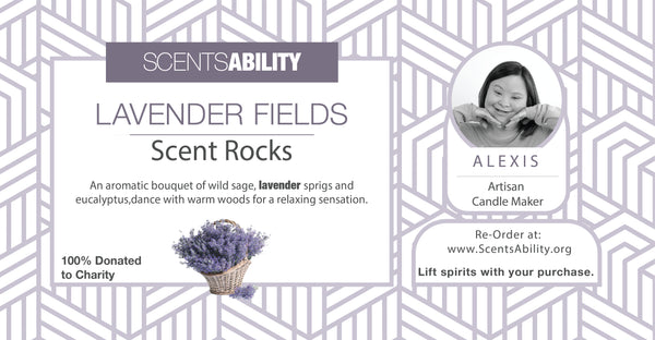 ScentRocks - Lavender Fields