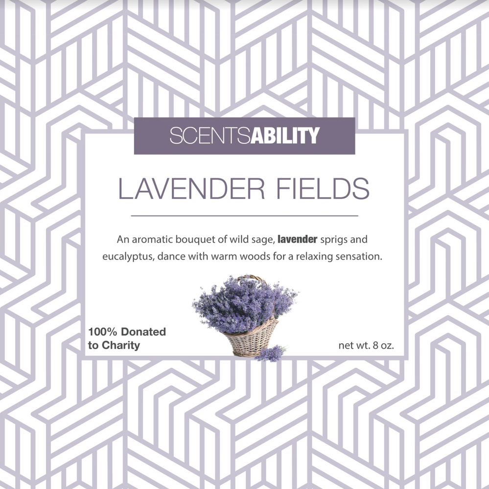 Candle - Lavender Fields