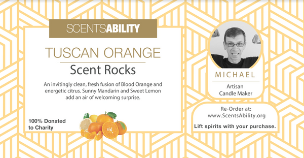 ScentRocks - Tuscan Orange