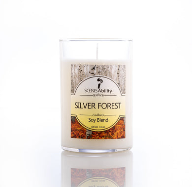 Silver Forest Candle Collection