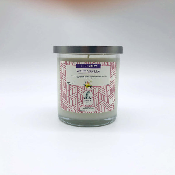 Candle - Warm Vanilla