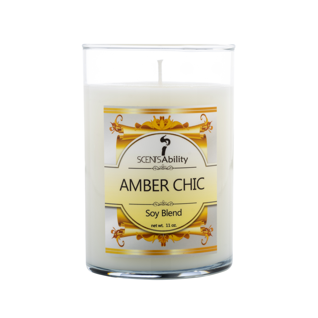 Amber Chic Candle Collection