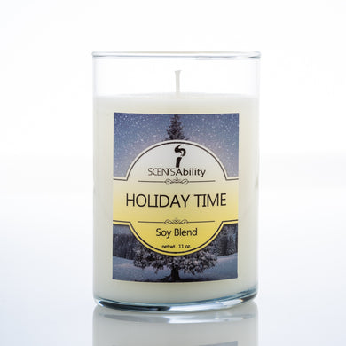 Holiday Time Candle Collection