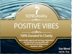 Positive Vibes Soy Blend Candle