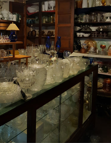 Vintage and Antique Glassware