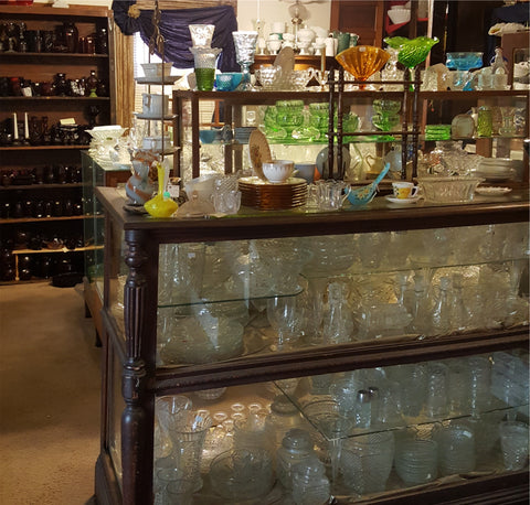 More Vintage and Antique Glassware