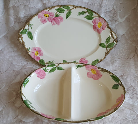 Desert Rose Serving Pieces from The Antique House