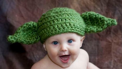 Handmade Yoda Hat featured at TheTwistedK