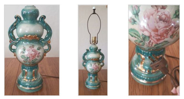 Vintage Lamp from The Antique House