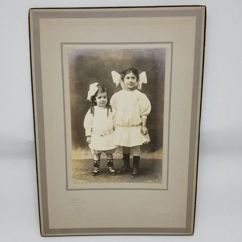 Antique Photograph of Two Young Girls  c. mid-late1800s - 2aEmporium