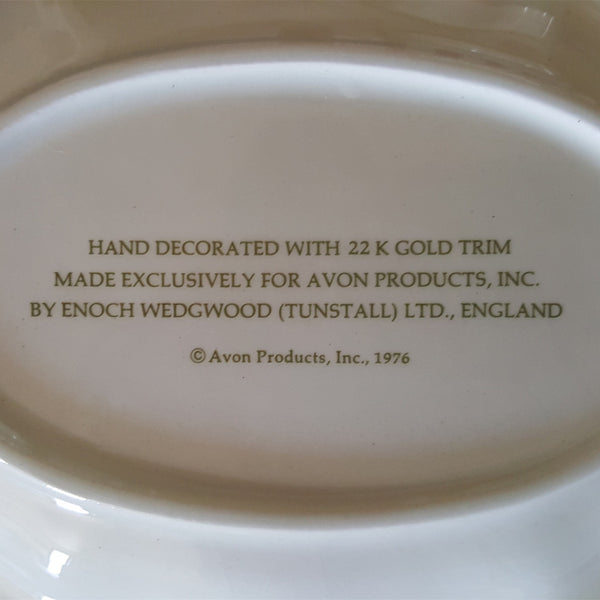 Avon Collectible Decorative Platter  c. 1976 - 2aEmporium