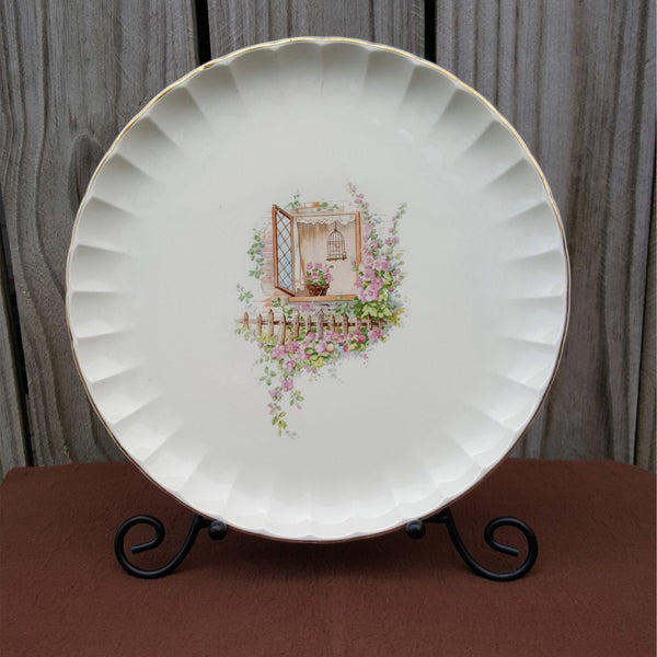Vintage Dinner Plates, Set of 3, Bolero Dinnerware Line, Breakfast Nook Pattern  c.  Before 1960s - 2aEmporium
