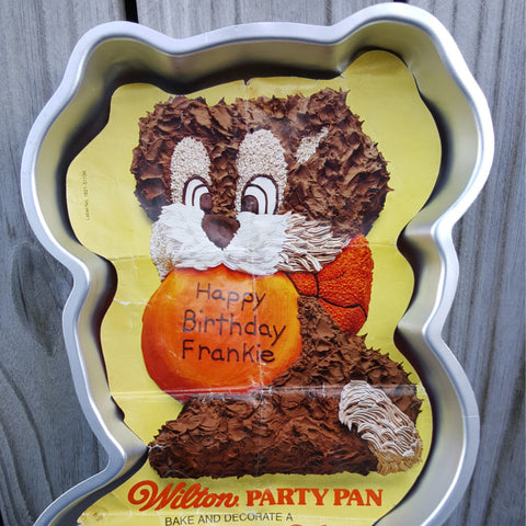 Vintage Wilton Playful Puppy Cake Pan, Wilton Model 502-7636  c. 1978 - 2aEmporium