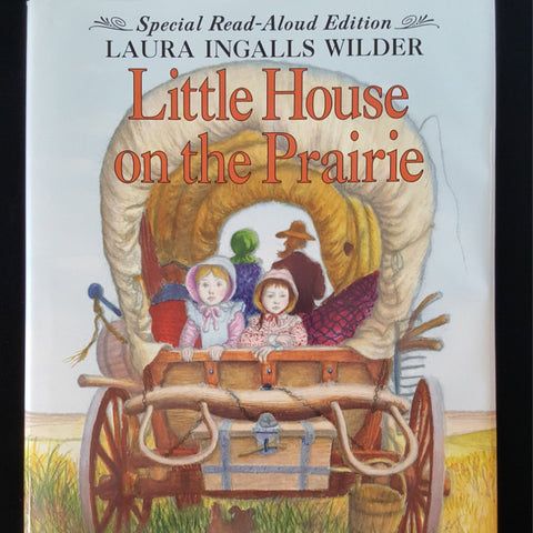 Little House on The Prairie, Laura Ingalls Wilder, Classic Children's Book, Vintage Hardback Book, Read Aloud Edition - 2aEmporium