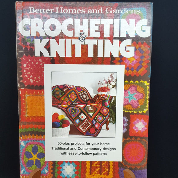 Better Homes and Gardens Crocheting and Knitting Book  c.1977 - 2aEmporium