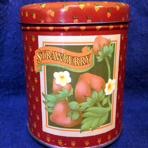 Vintage Strawberry Tin - 2aEmporium