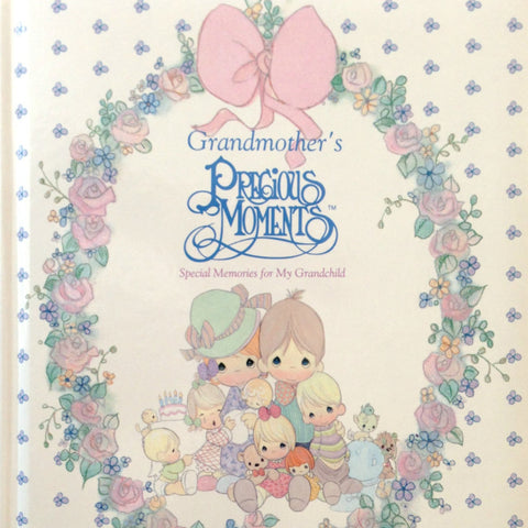 Precious Moments Grandmother's Book, Family Memories, Good Old Days, Grandma, Memory Book - 2aEmporium
