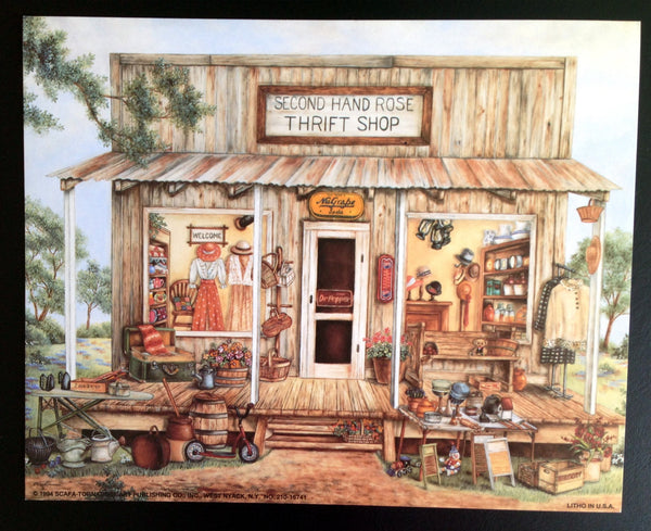 Vintage Americana Country Prints, Set of (4) 8x10 prints  c.1993 - 2aEmporium