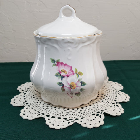 Vintage Homer Laughlin Biscuit Jar with Lid - 2aEmporium