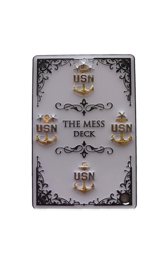 The Mess Deck - MCPON Keychain