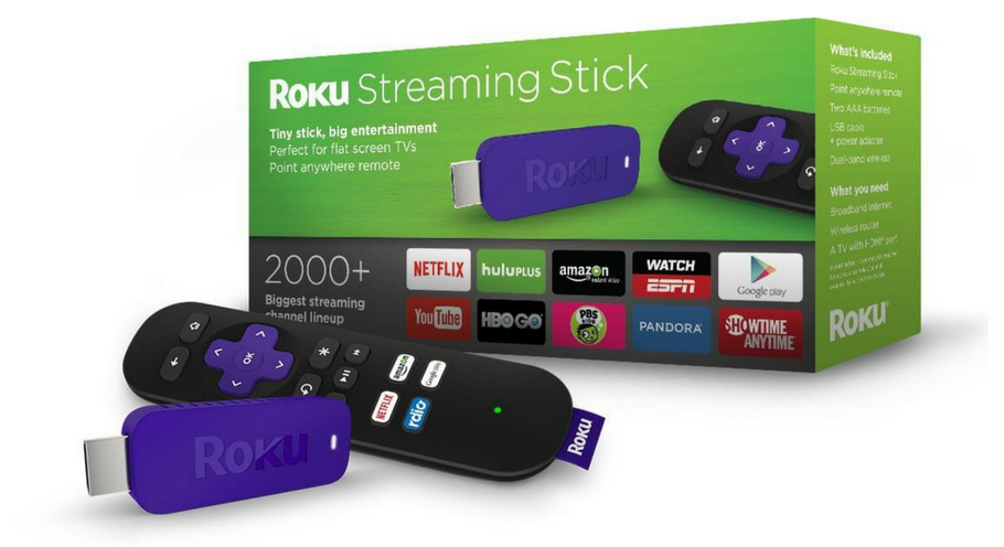 ROKU STREAMING STICK: STREAM SMART