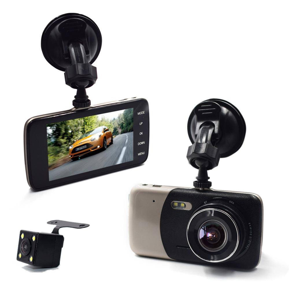 4.0 Inch IPS Screen Car DVR Novatek Car Camera